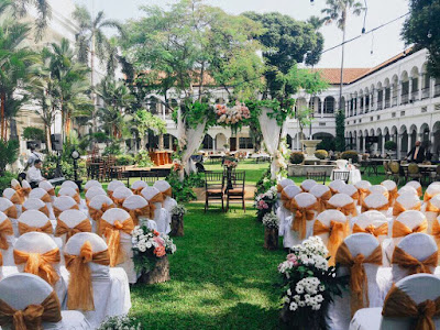 Rasakan Sensasi Pesta Kebun yang Romantis dari Hotel Majapahit Surabaya