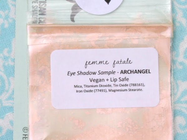 Femme Fatale Friday: Archangel Eyeshadow Swatches & Review