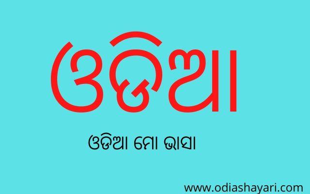 New Odia mo bhasa language