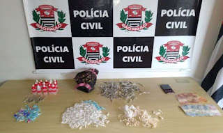 POLÍCIA CIVIL DE REGISTRO-SP PRENDE MAIS UM TRAFICANTE DE DROGAS