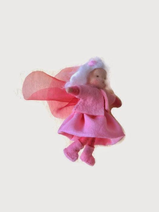 Roze elfje seizoentafel lente Atelier de Vier Jaargetijden