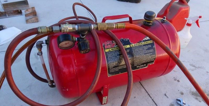 new pressure tank set up