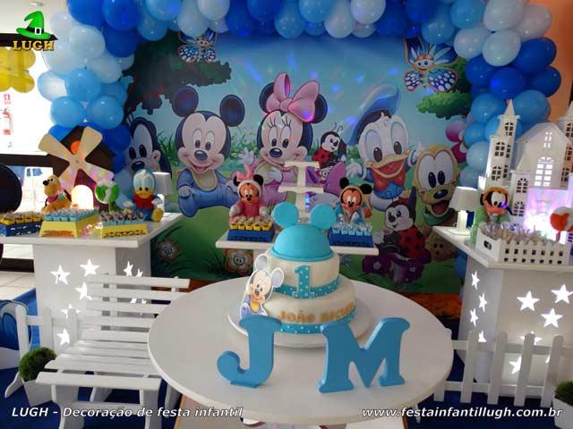 Decoração festa infantil Baby Disney - Aniversário