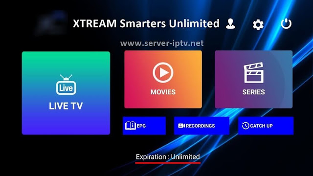 Code XTREAM Smarters Unlimited 2020