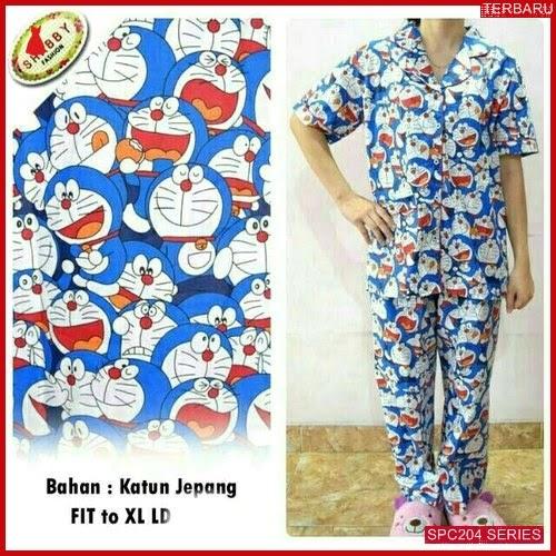 SPC204P87 Piyama Doraemon Bhn Cp Baju Tidur Wanita | BMGShop