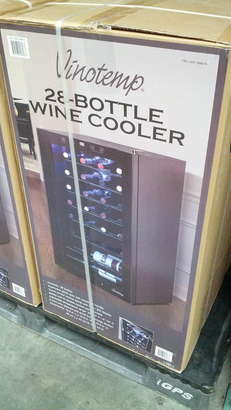 Vinotemp Vt 28ts 28 Bottle Wine Cooler Costco Weekender