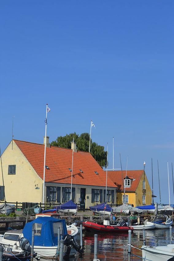 Luisa Bernasconi a Dragør, il borgo dai tetti di paglia