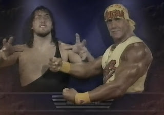 WCW SUPERBRAWL VI 1986 - The Giant faced Hulk Hogan in an unsanctioned street fight
