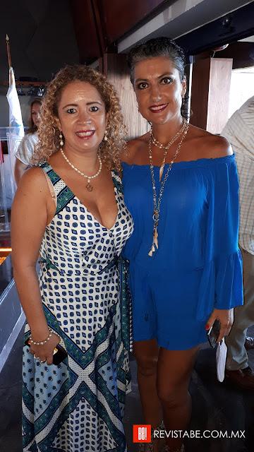 Liliana Bravo y Valeria Rindertsma.