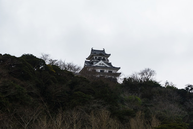 館山城の天守