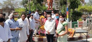 भारत रत्न राजीव गांधी जी की पुण्यतिथि पर कांग्रेस ने श्रद्धांजलि अर्पित की, विधायकों ने दी एंबुलेंस