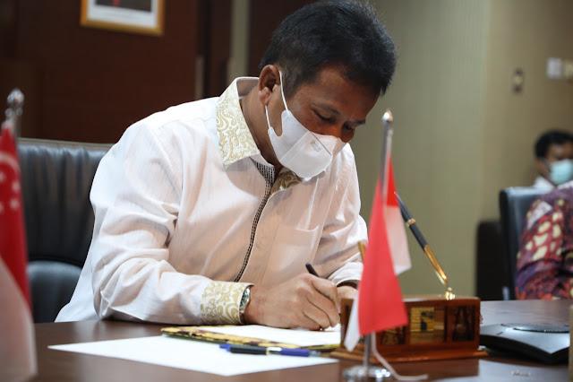 BP Batam dan Sunseap Group Pte. Ltd., Tandatangani Memorandum of Understanding (MoU)