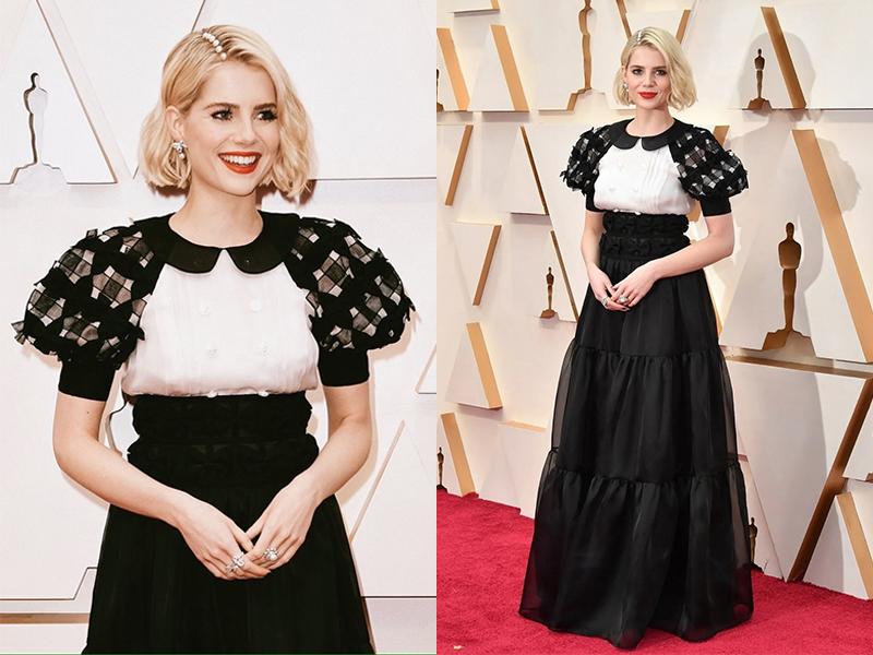 Lucy Boynton The Oscars 2020