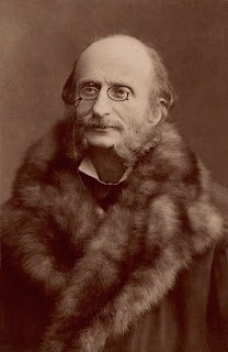 Jacques Offenbach photographed by Nadar in the 1860s
