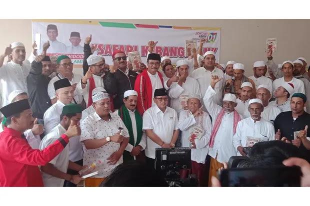 Ratusan Habaib di Situbondo Deklarasi Dukung KH Ma'ruf Amin