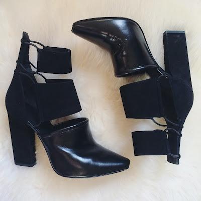 Alexander Wang Mackenzie Cut Out Suede Boots