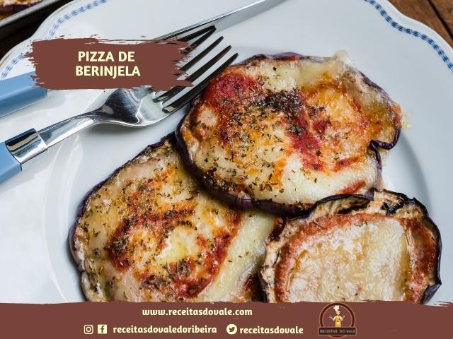 Receita de Pizza de Berinjela