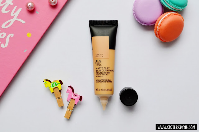 The Body Shop Clay Skin Clarifying Foundation Packaging