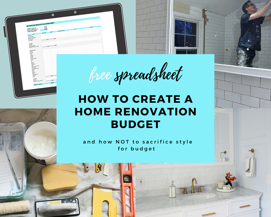 home renovation budget, home renovation budget template excel free, home renovation budget spreadsheet, free excel template, renovation calculator