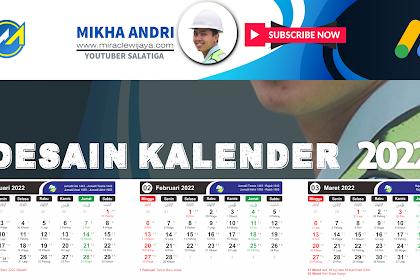 Download Desain Kalender 2022 CRD Lengkap   Jawa - Hijriah - Masehi