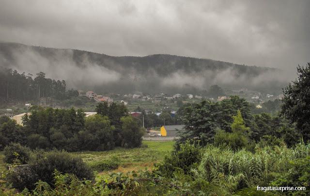 Vale próximo a Redondela, Galícia, no Caminho de Santiago