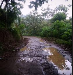 Warga Mengeluh Jalan Menuju Wisata Selo Gendong Rusak