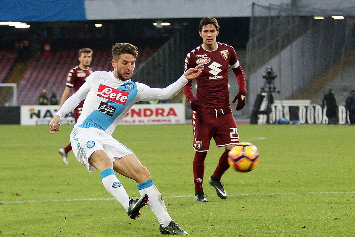 مشاهدة مباراة نابولي ضد تورينو 23-12-2020 بث مباشر في الدوري الايطالي