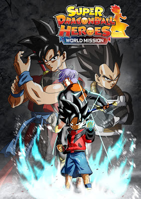 Capa do Super Dragon Ball Heroes: World Mission