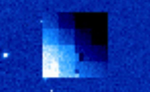 OVNI cubo del tamaño de la luna visto cerca del sol el 12 de enero de 2021 5