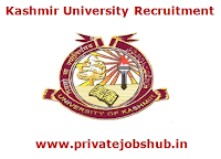 Kashmir University Recruitment