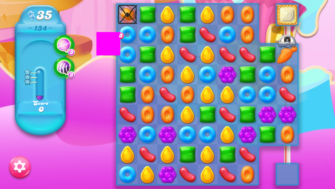 Candy Crush Jelly Saga 134