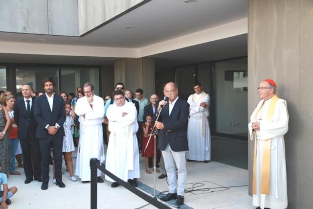 COLÉGIO DA BOA NOVA. Carreiras destaca papel pioneiro da Igreja Católica na educação dos jovens e Cardeal Patriarca recorda freira assassinada