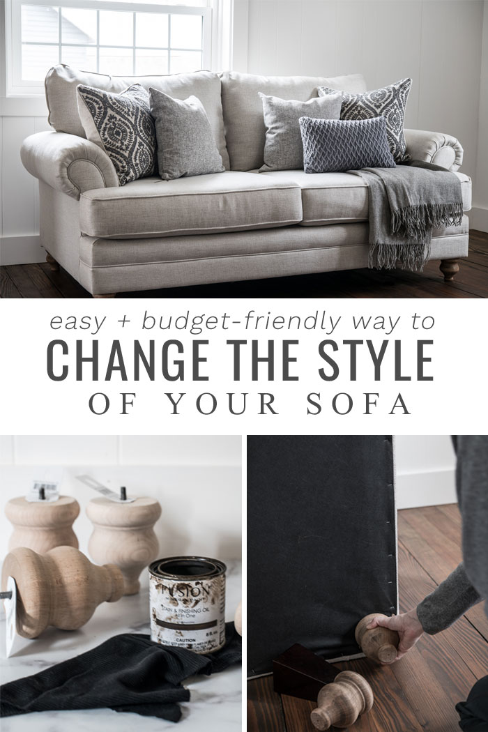 Change the style of your sofa