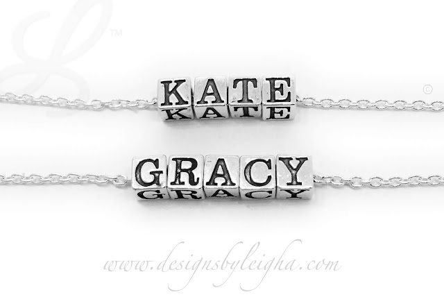 Kate and Gracy Name Necklaces