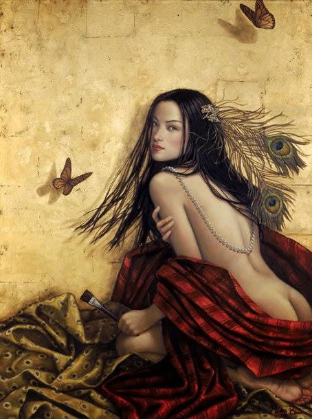 Manina de Ouro - Lauri Blank e suas pinturas cheias de emoções