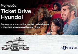 Promoção Ticket Drive Hyundai 2020 -