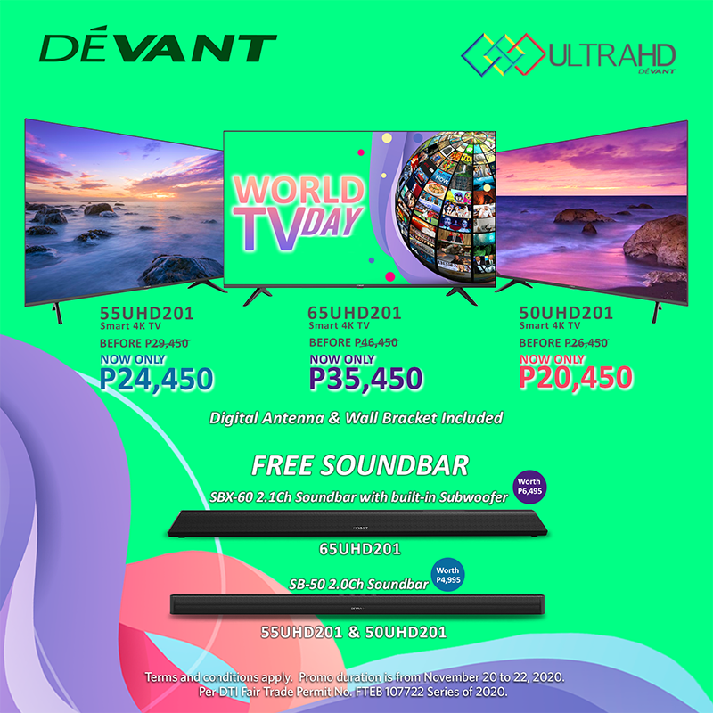 Check out these Devant World TV Day offers!