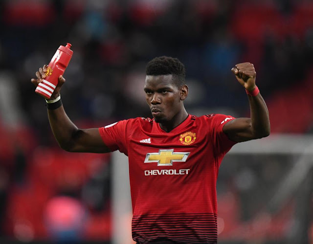 Paul Pogba Gifts a #118million Ferrari Car To His New Born Baby