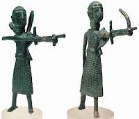 Bronzetto archers