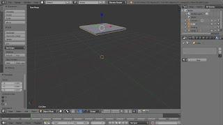 Pencahayaan Lampu Pijar dengan Blender