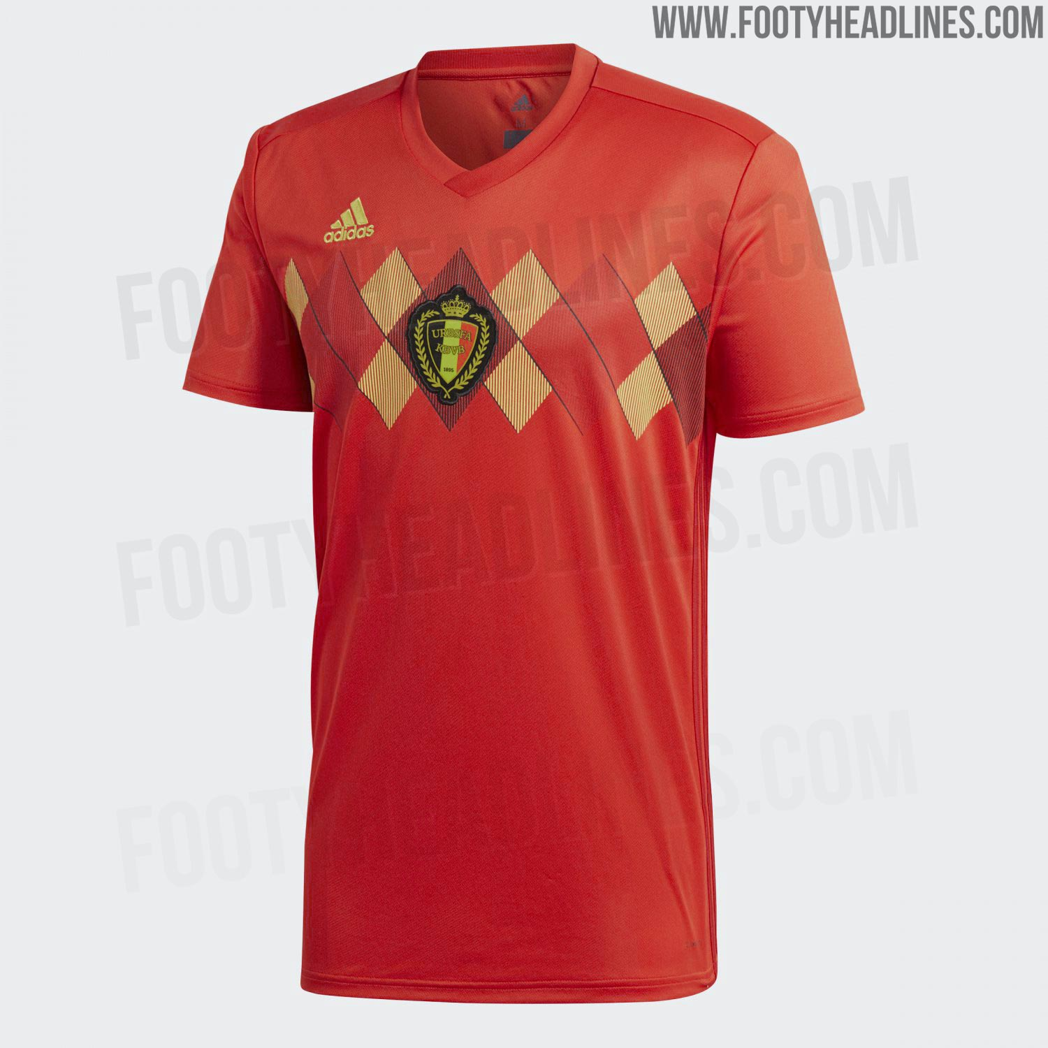 Belgium 2018 World Cup Home Kit Released - Footy Headlines