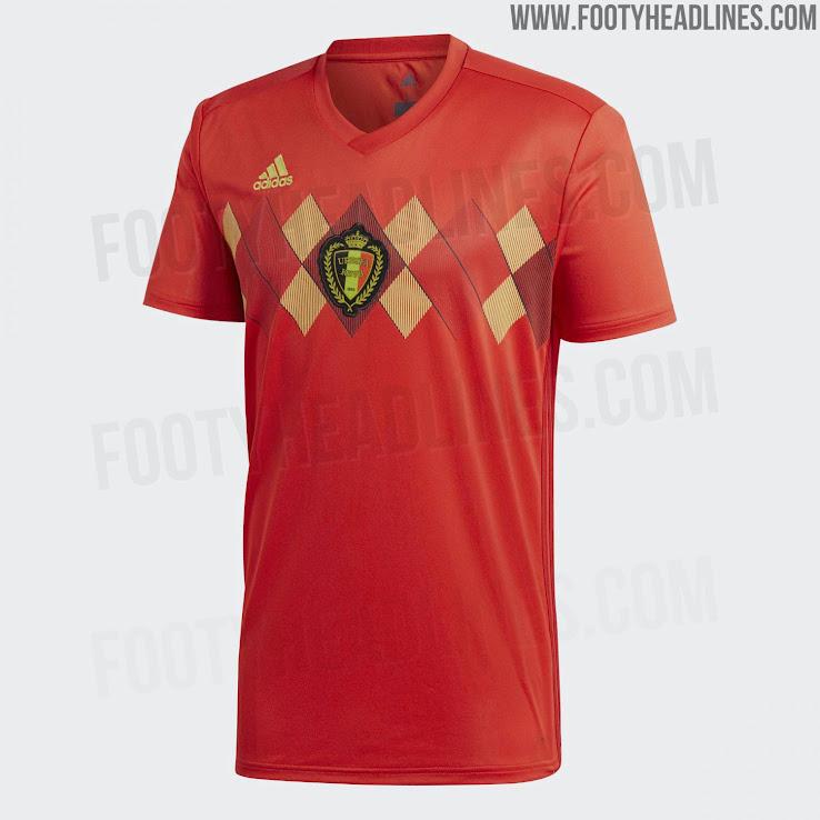Seragam Piala Dunia 2018 Belgia