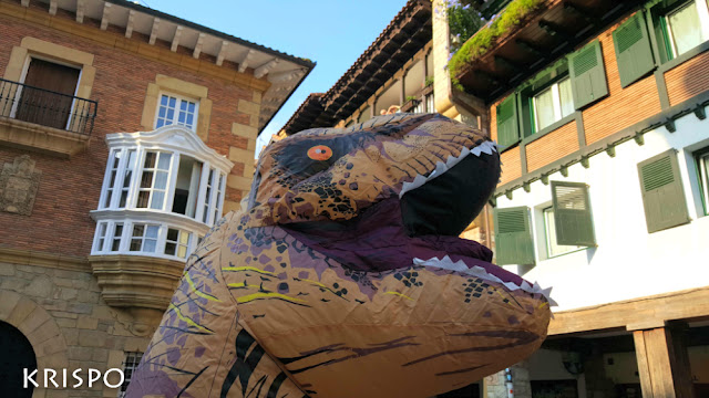 primer plano de t-rex