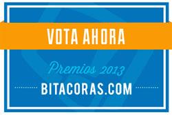 Vótame en los Premios Bitácoras en categoría VIAJES
