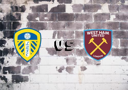 Leeds United vs West Ham United  Resumen