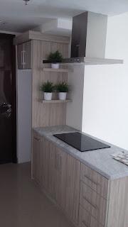 Gambar kitchen set Murah model Island. jakarta