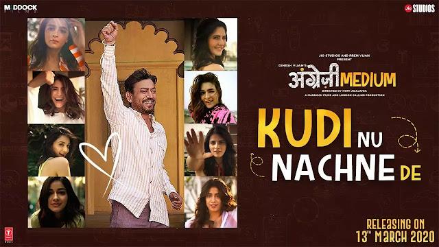 Kudi Nu Nachne De Lyrics song - Vishal Dadlani , Sachin Jigar