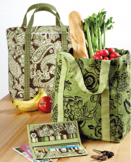 Market Bag & Coupon Holder