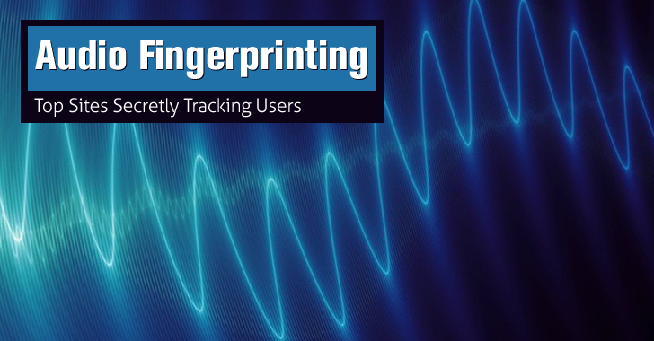 Top Websites Using Audio Fingerprinting to Secretly Track Web Users
