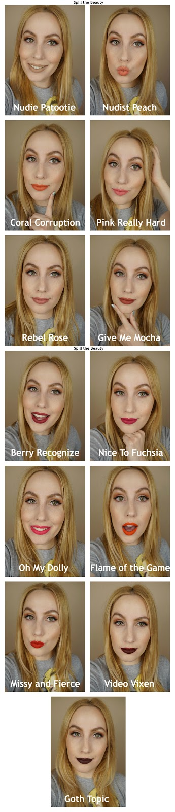wet n wild liquid catsuit matte lipstick review swatches look